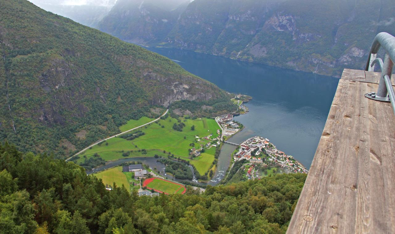 Sognefjord kilátó Norvégia