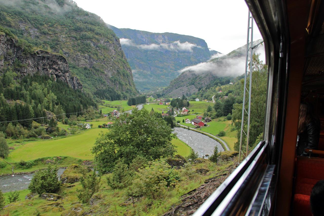 Flam Myrdal conat Norvégia