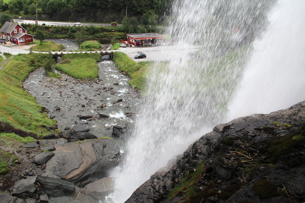 Steinsdalsfossen vízesés Norvégia