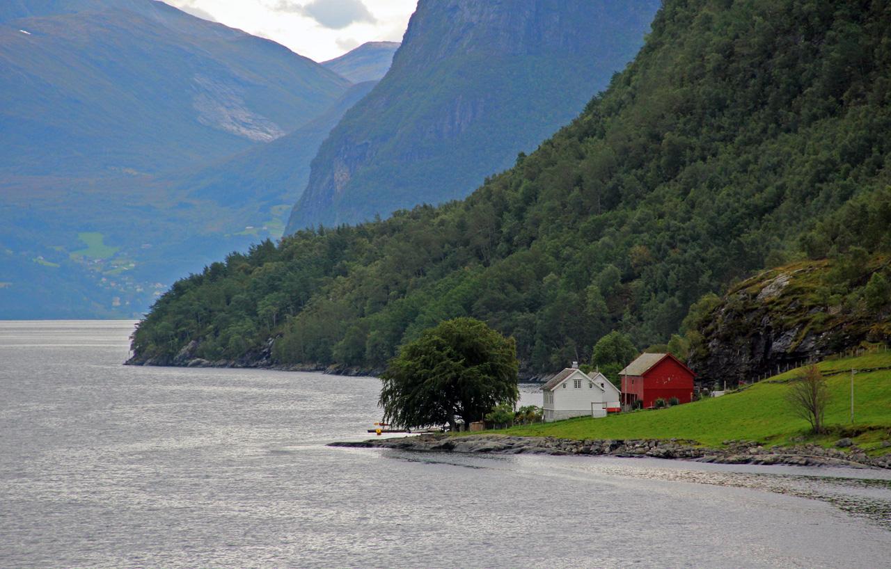 Geirangerfjord norvégia fjord