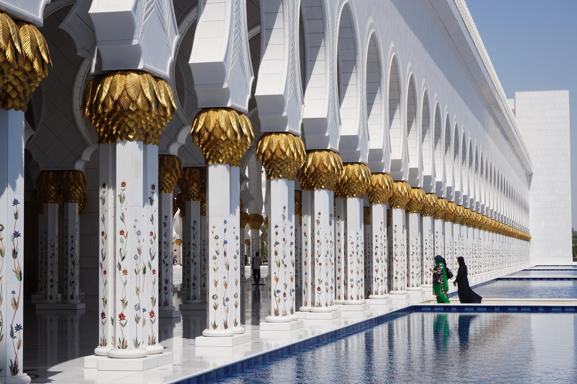 Zayed mecset Abu Dhabi