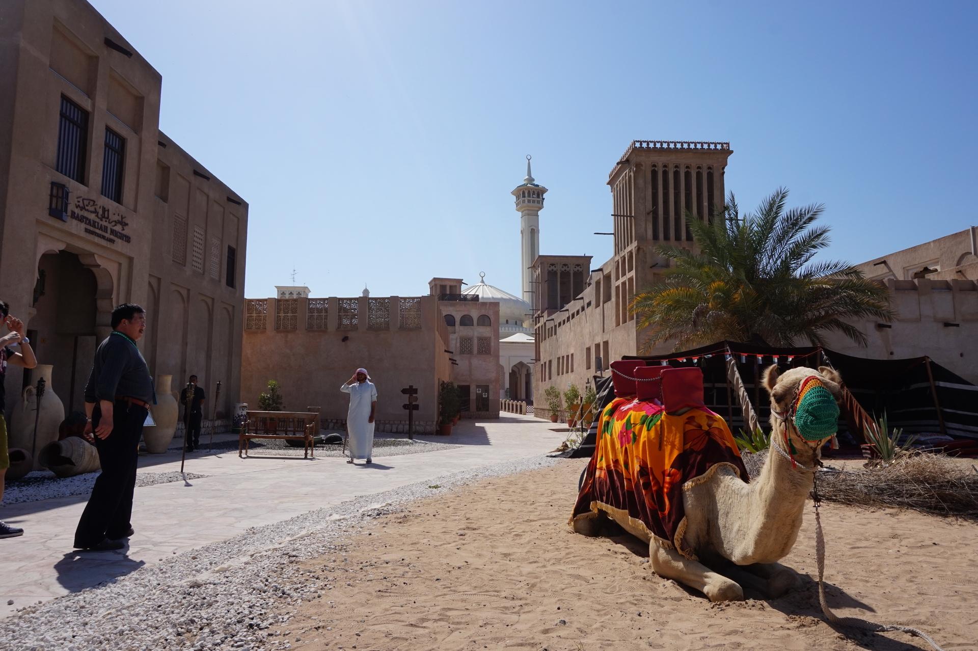 dubai óváros teve