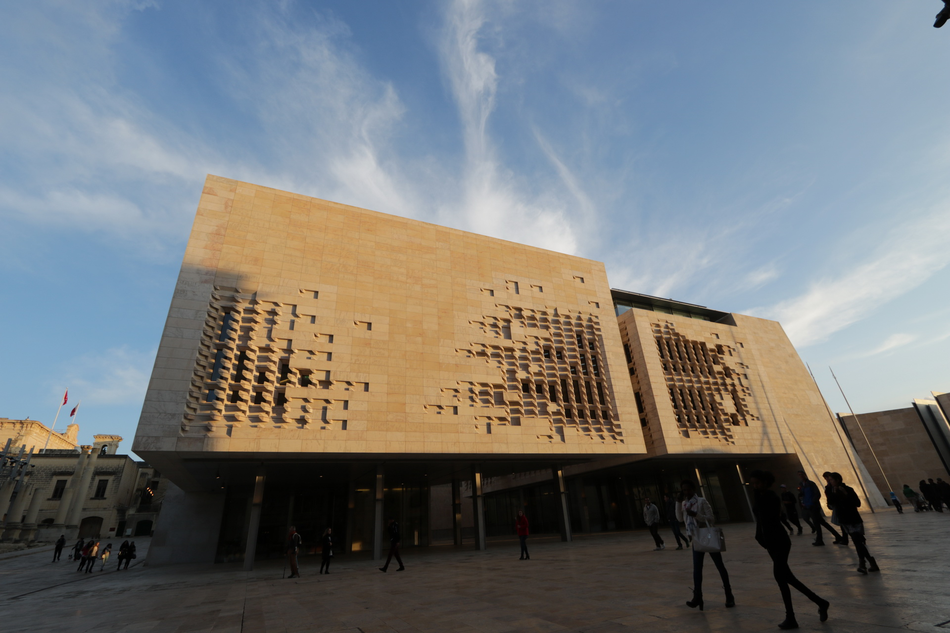 Málta parlament Valletta