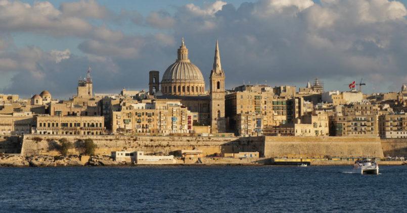 Valetta Málta utazás