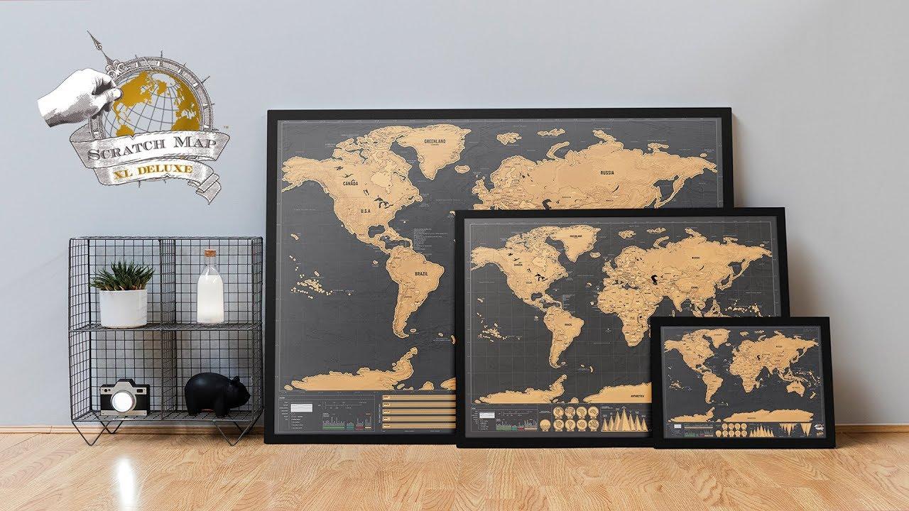 Deluxe kaparós térkép kerettel