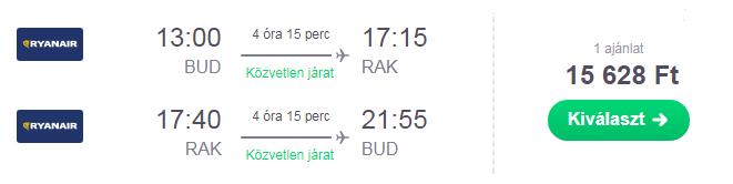 olcsó repülőjegy marokkóba