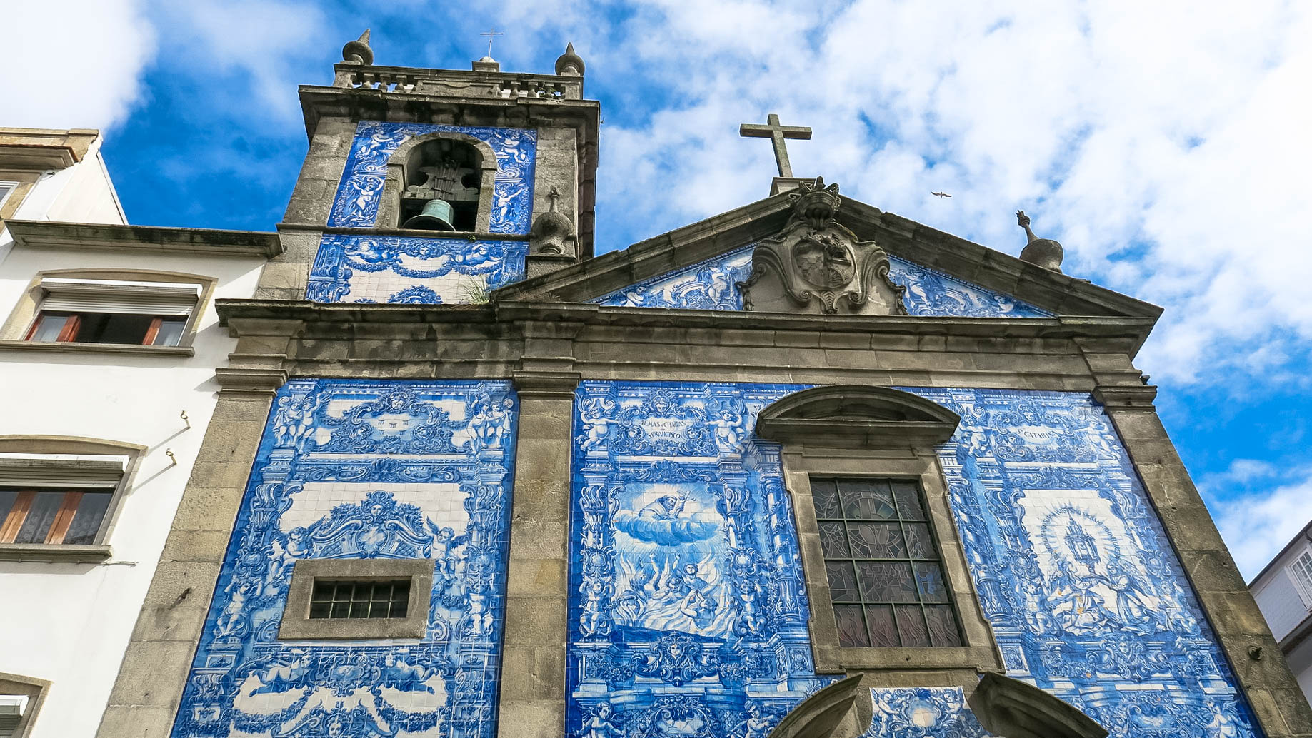 azulejo kápolna kék templom