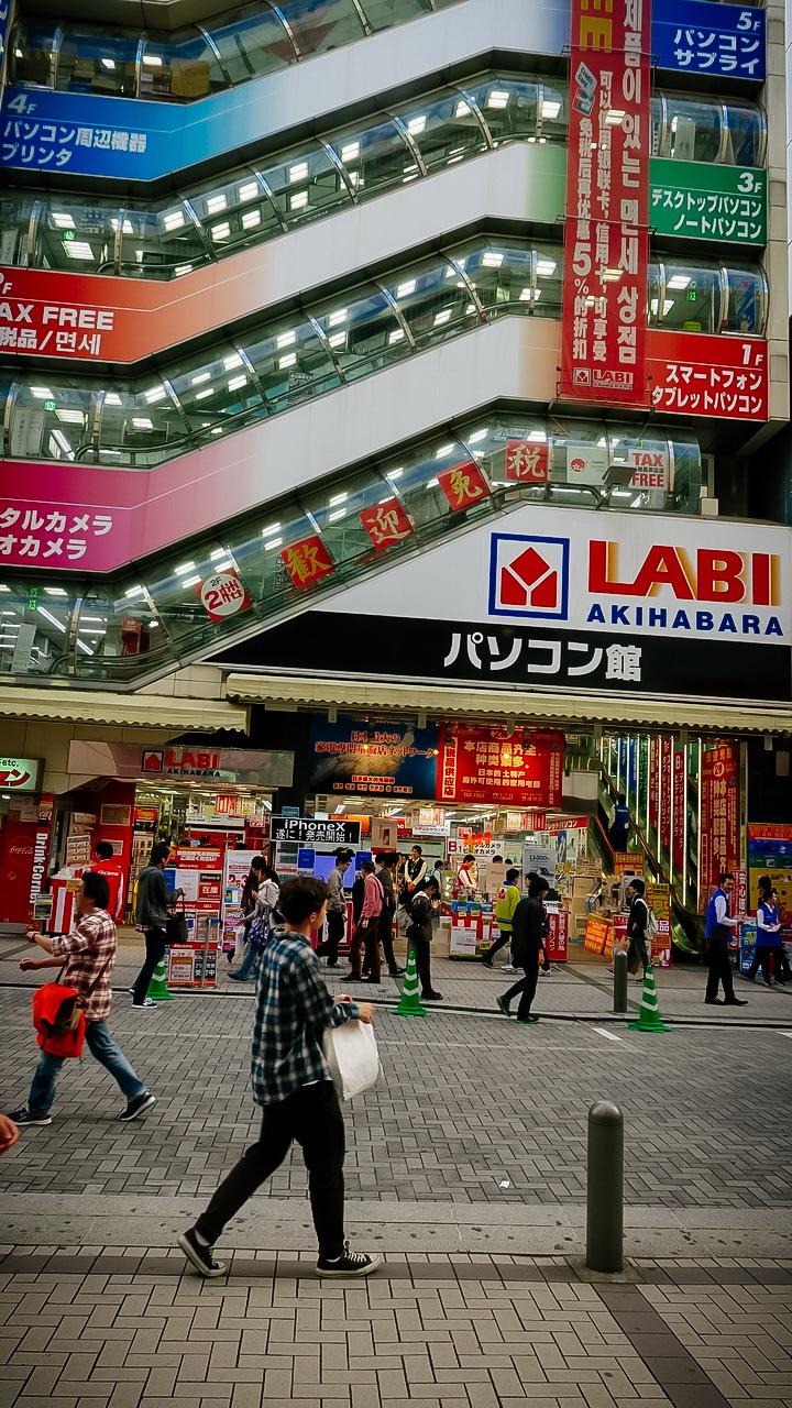 Akihabara Tokió