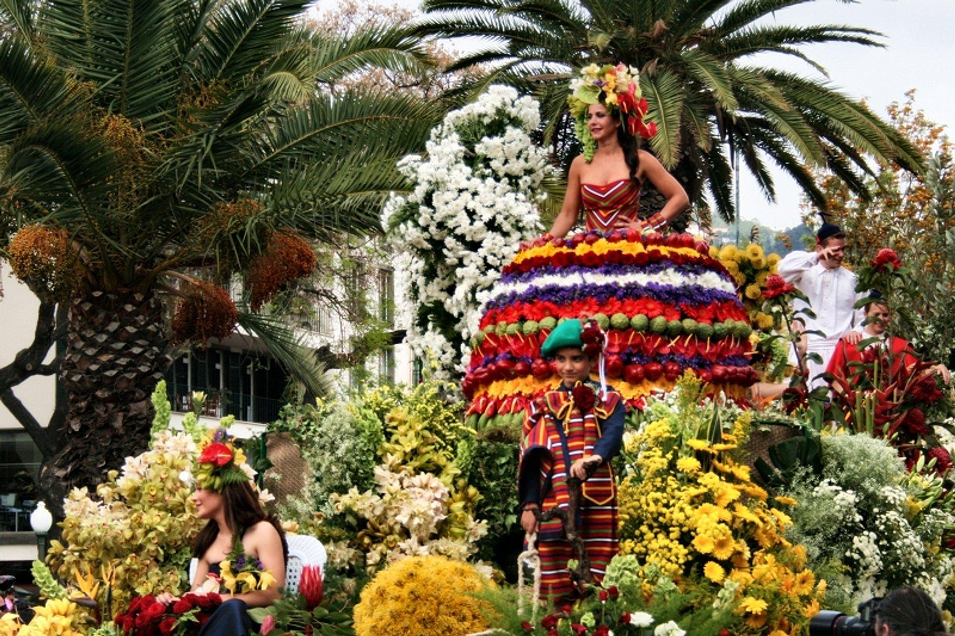Maderia virágfesztivál