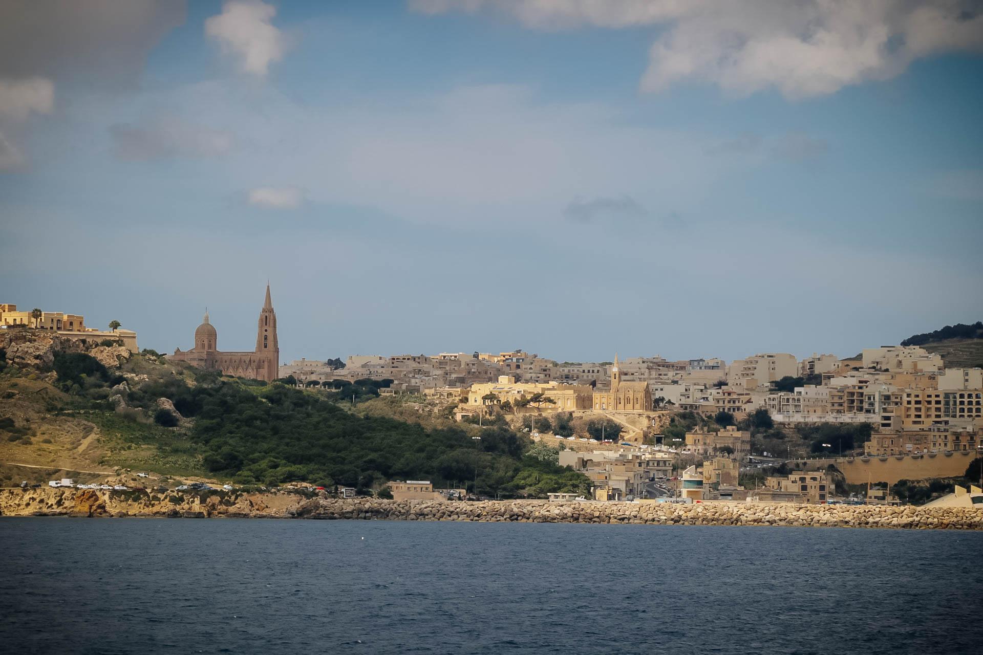 Gozo komp menetrend Málta