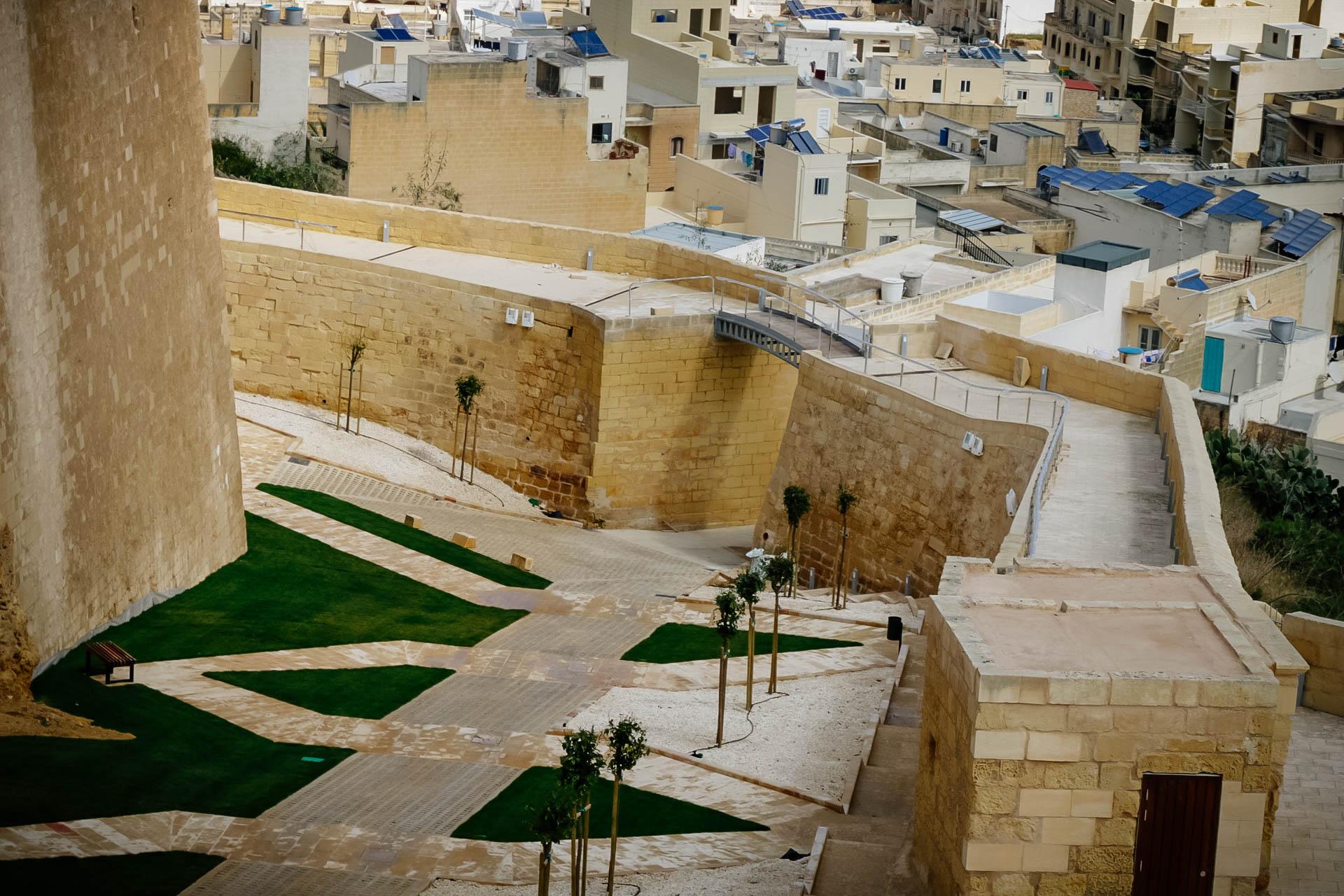 Gozo citadella Viktória Málta