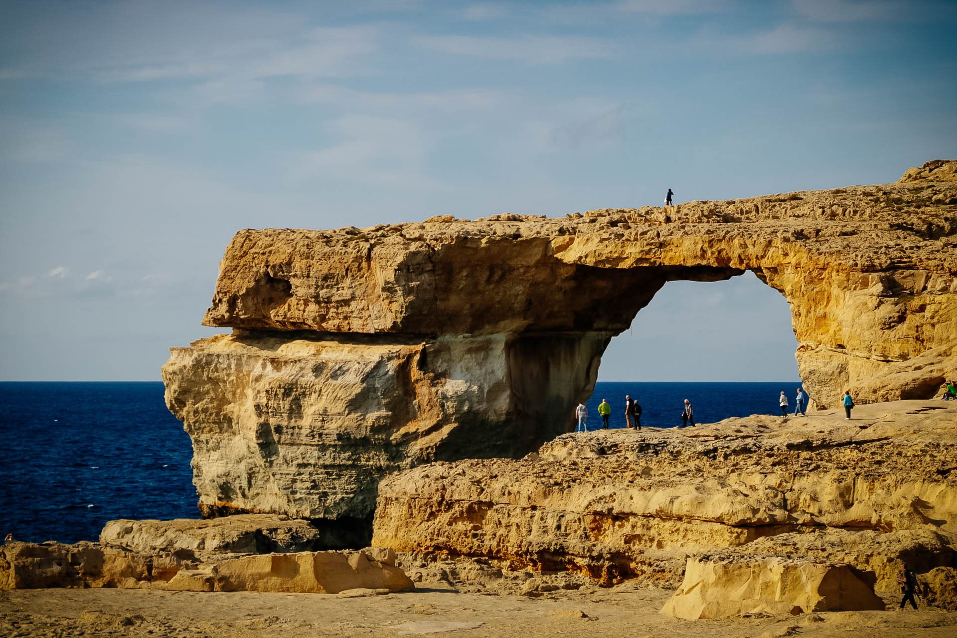 Azúr ablak, Gozo, Málta