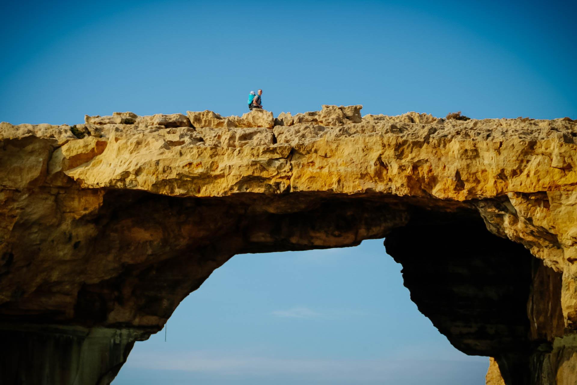 Azúr ablak Gozo Málta