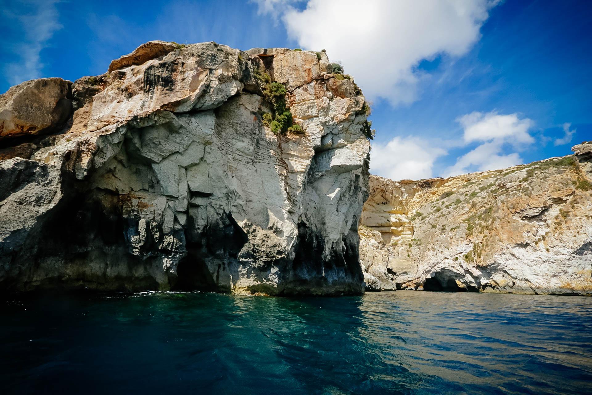 Blue grotto kék barlang Málta