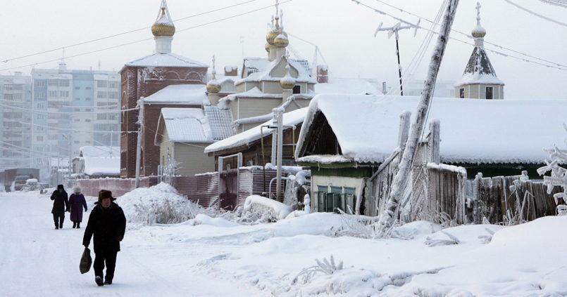 Jakutszk a leghidegebb város