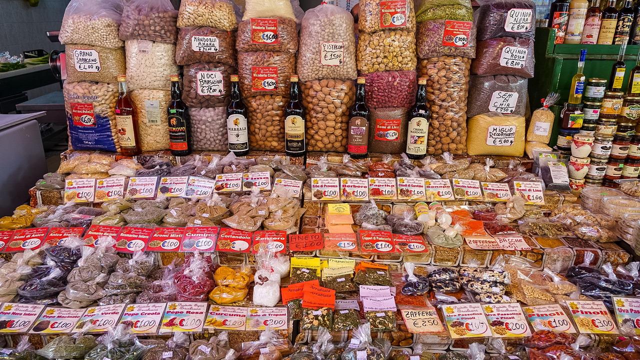 Palermo Ballaro piac