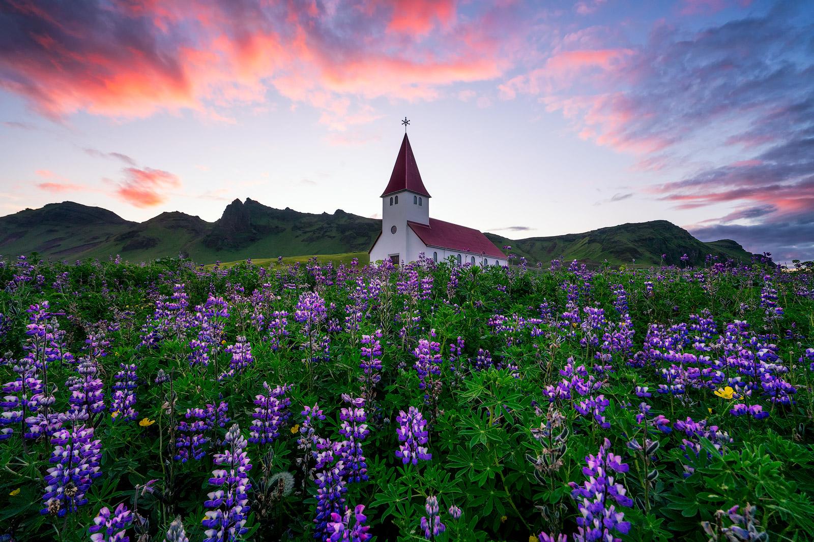 Izland tavasz Vik