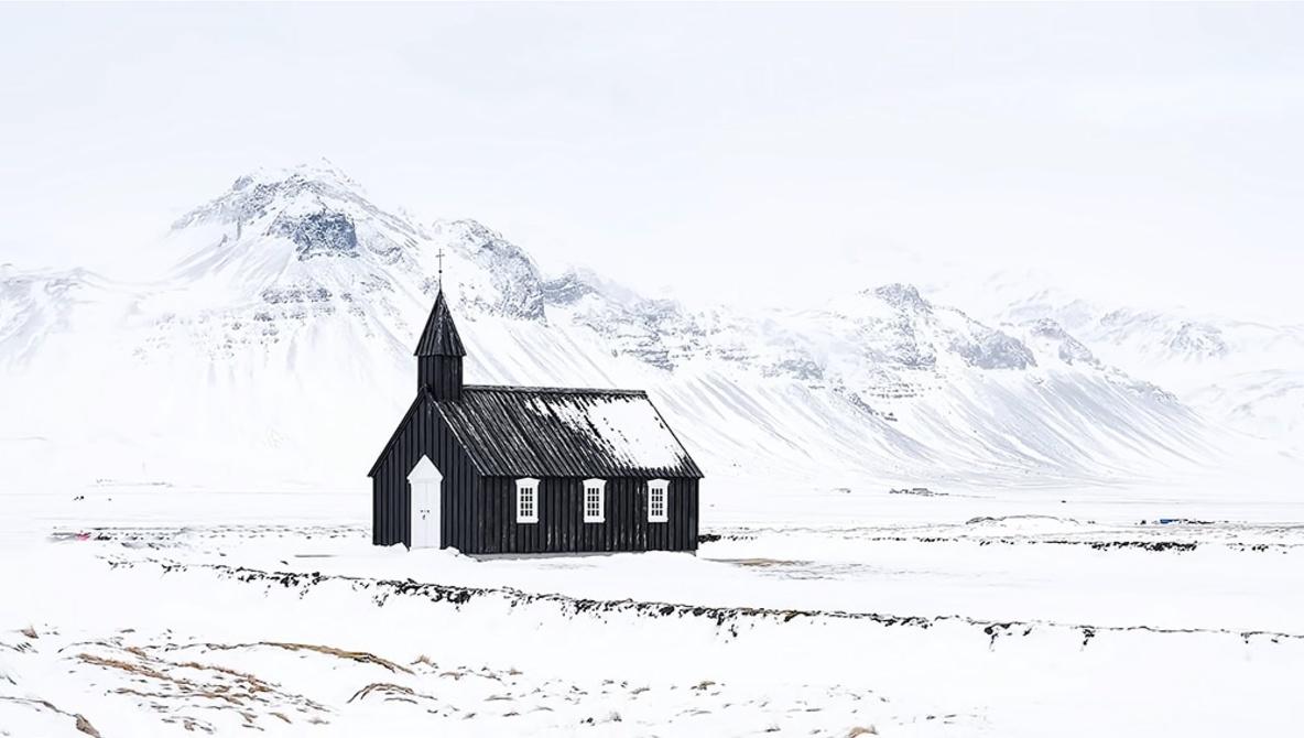 Izland télen decemberben