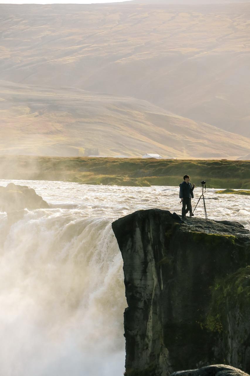 Izland Godafoss
