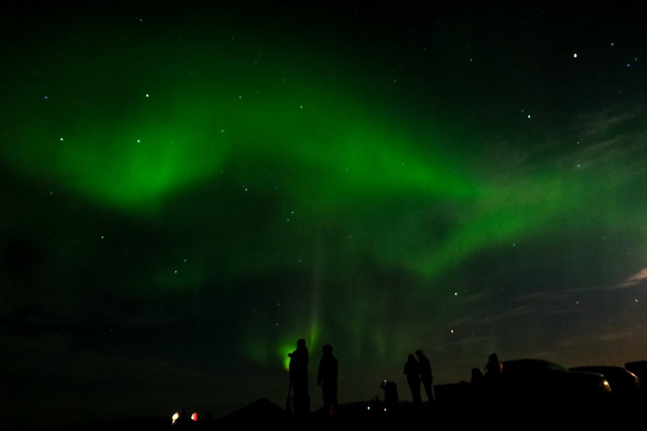 Izland északi fény