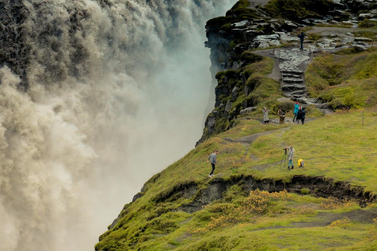 Izland Dettifoss vízesés