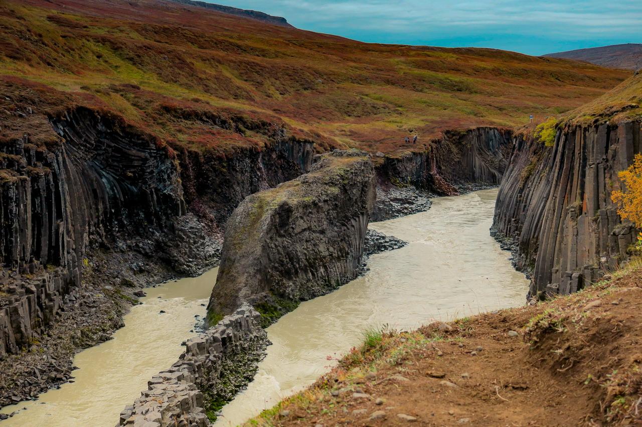 Studlagil kanyon