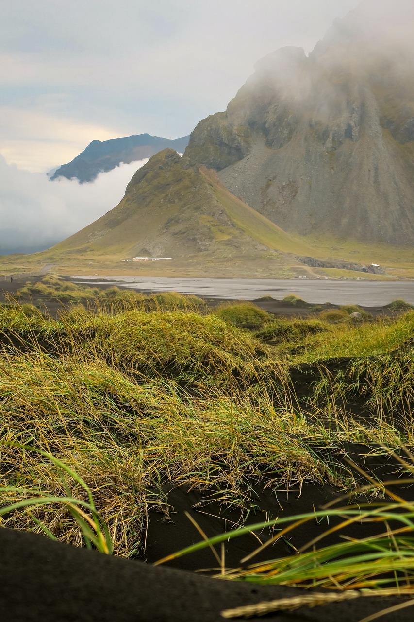Izland Stokksnes