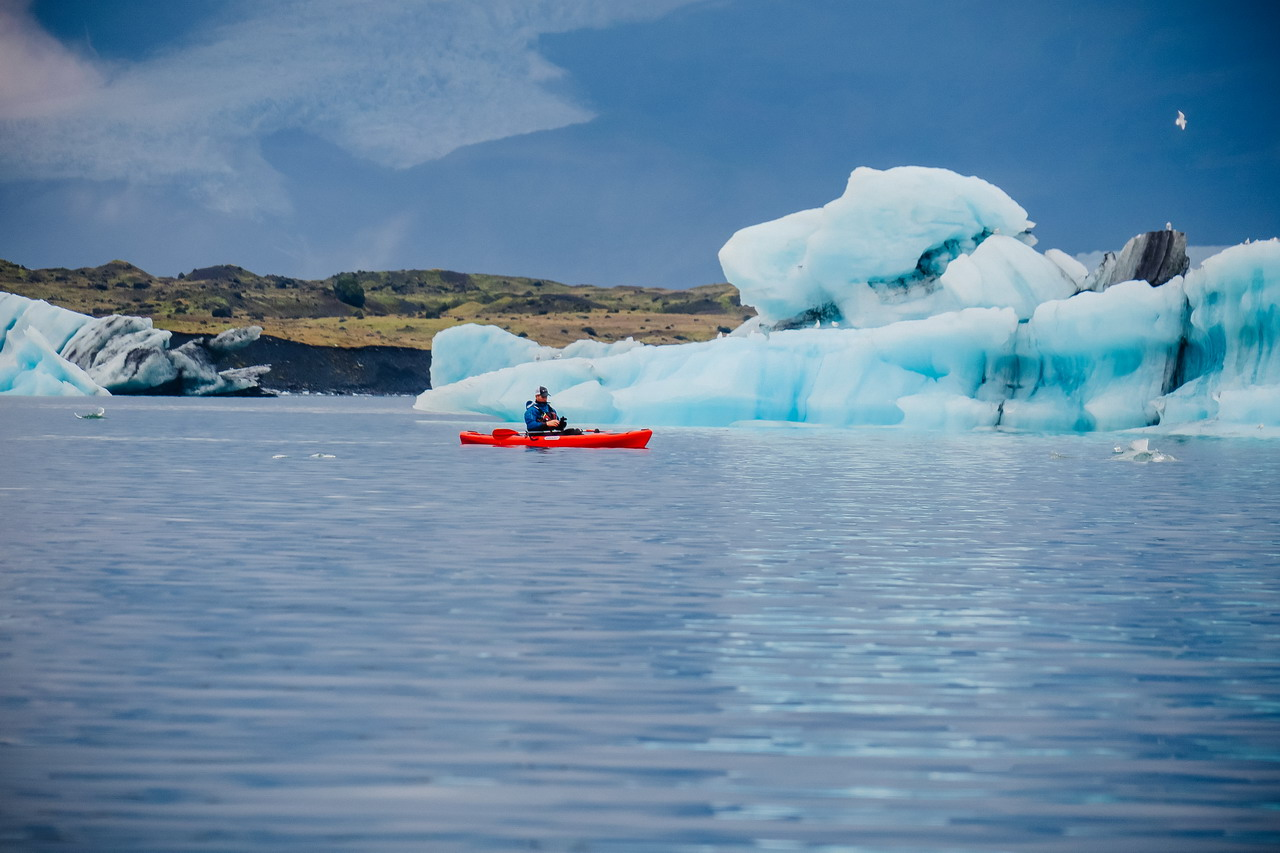 Izland Jökulsárlón gleccser