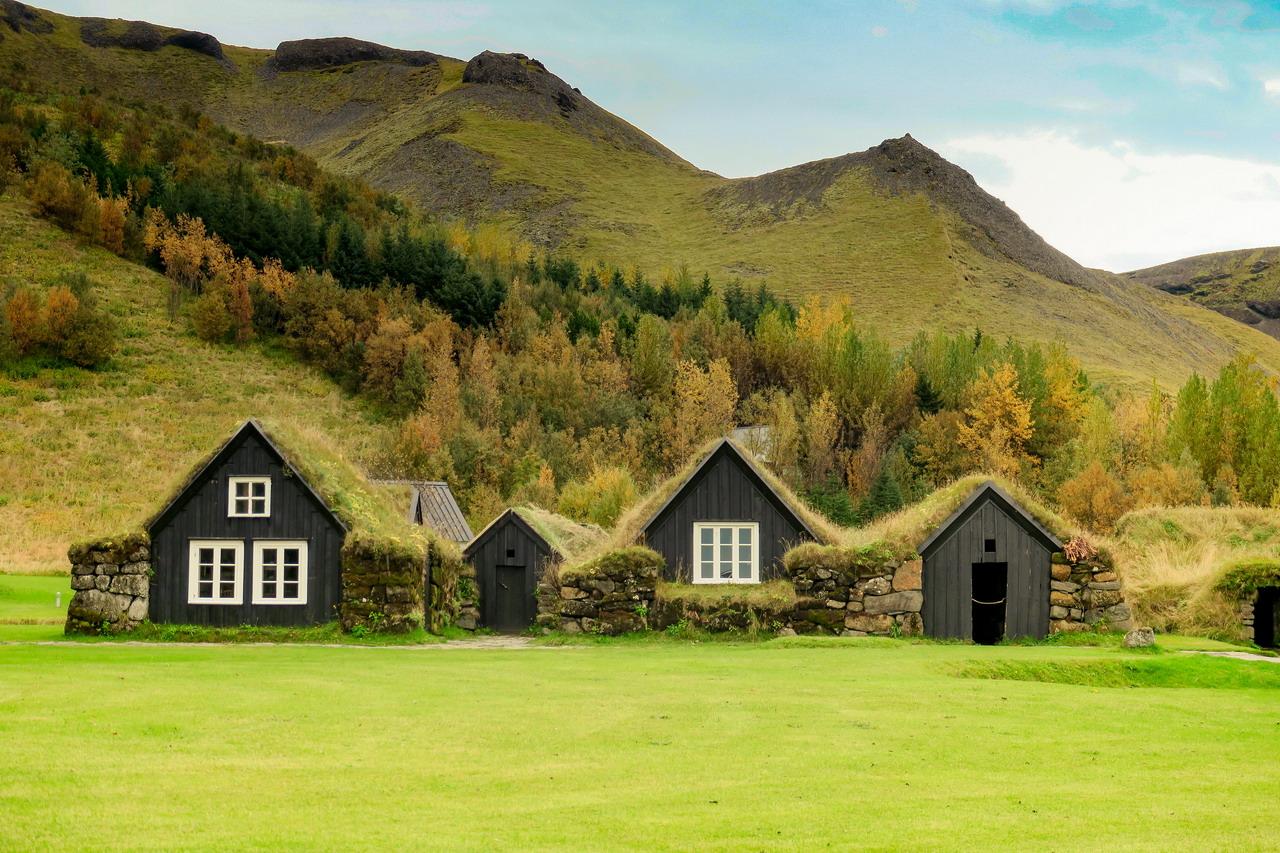 Izland turf ház