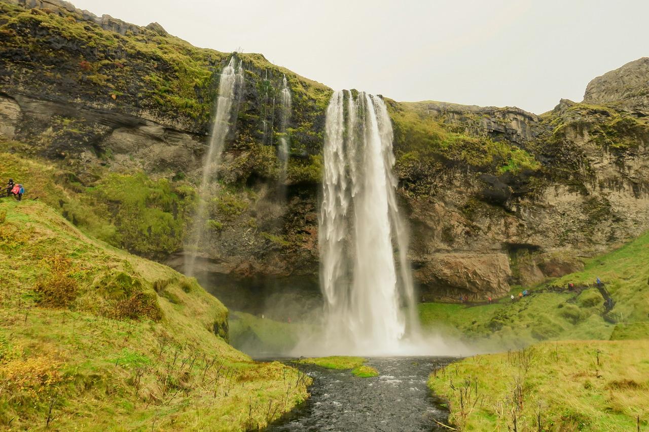 Seljalandsfoss vízesés Izland