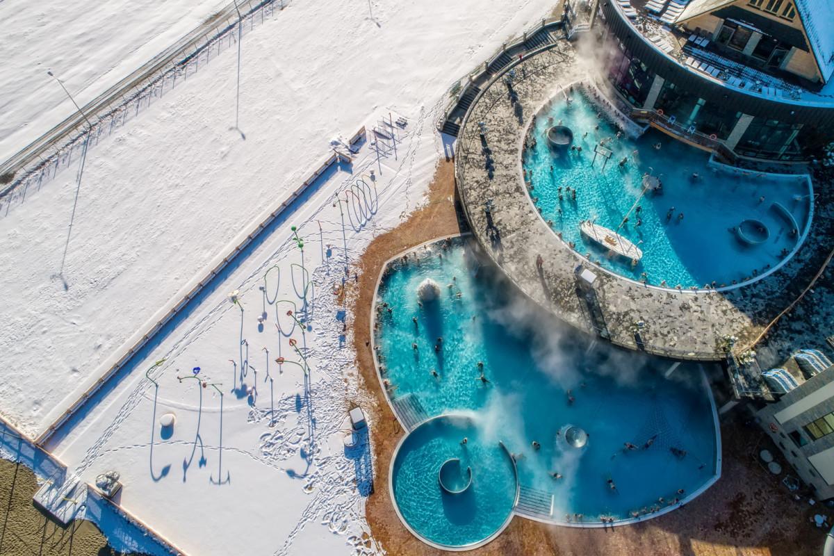 Aquapark termálfürdő Zakopane