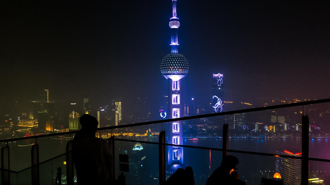 Sanghaj Ritz Carlton Pudong hotel