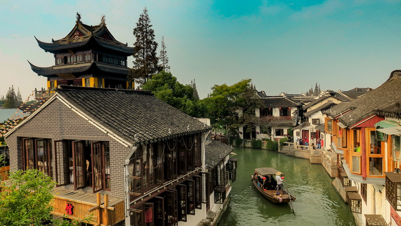 Zhujiajiao - Sanghaj környéke