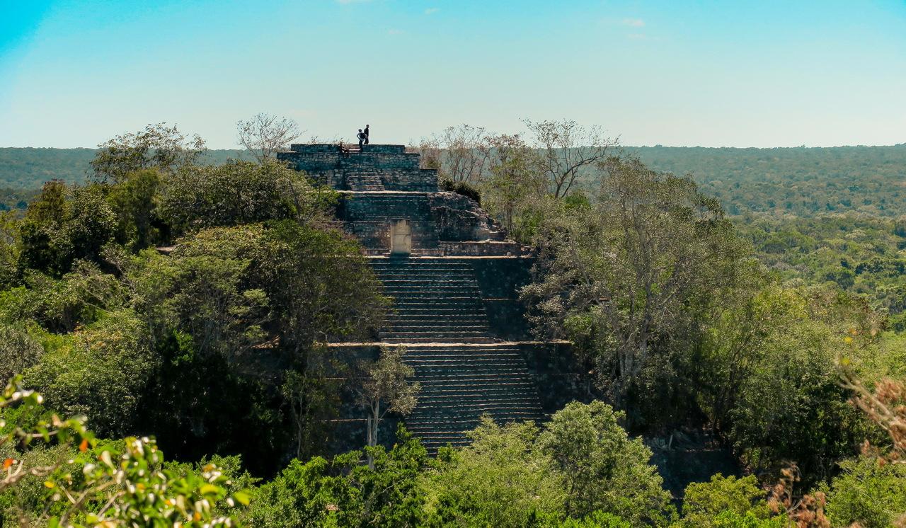 Calakmul Mexikó yucatan
