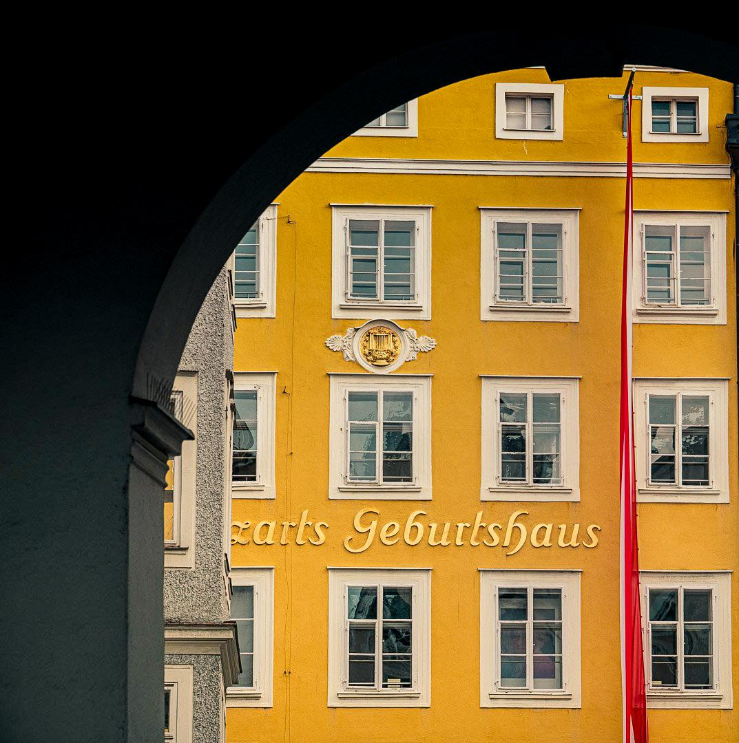 Mozart szülőháza Salzburg