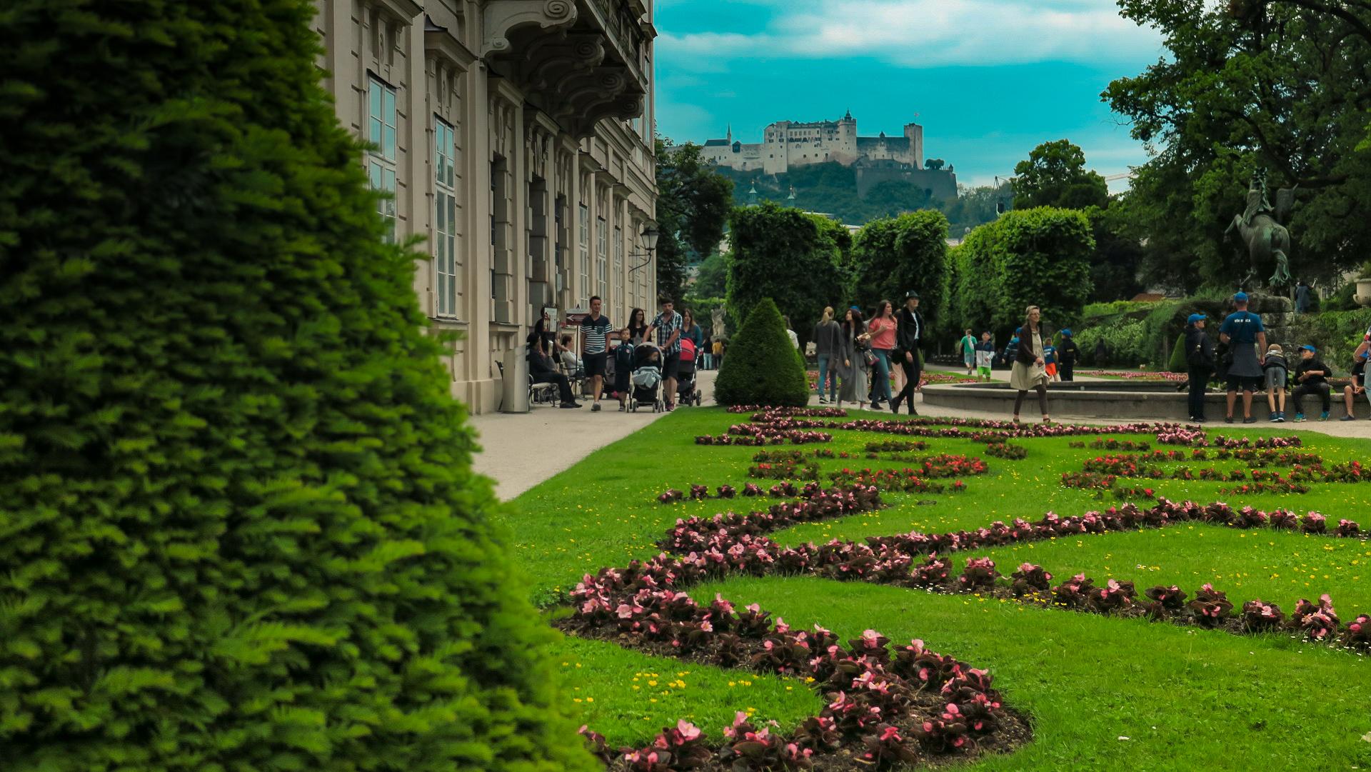 Salzburg Mirabell kastély
