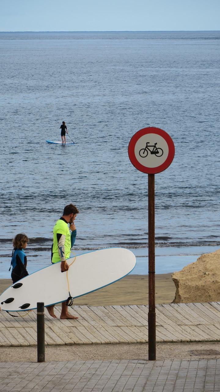 El Medano surf